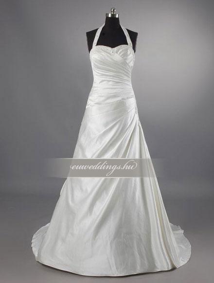 Menyasszonyi ruha A vonalú pántos-AVP-368
