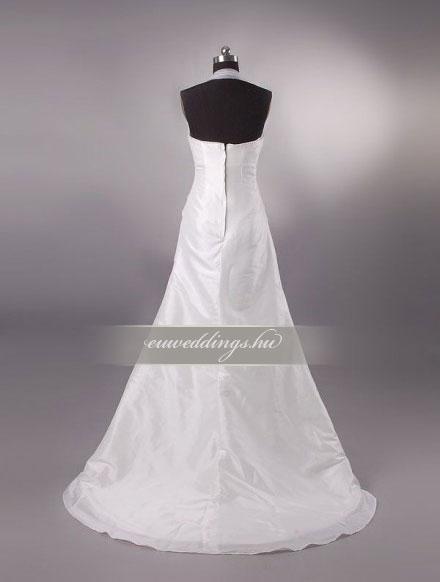 Menyasszonyi ruha A vonalú pántos-AVP-791