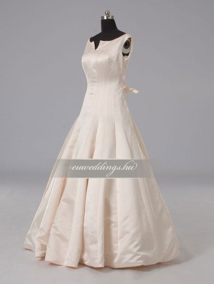 Menyasszonyi ruha A vonalú színes és mintás-AVS-1765