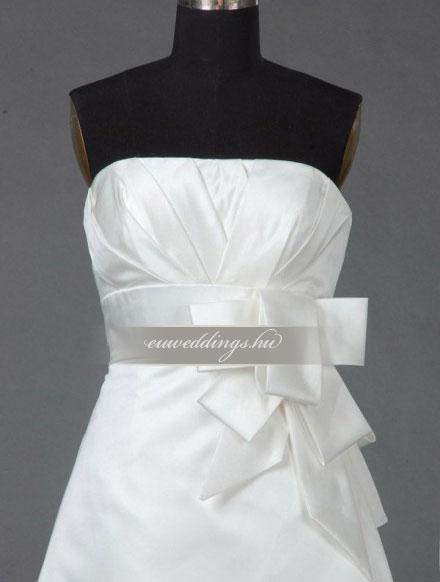 Menyasszonyi ruha A vonalú ujjatlan-AVU-2639