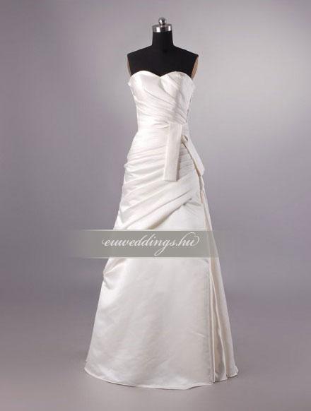 Menyasszonyi ruha A vonalú ujjatlan-AVU-3423
