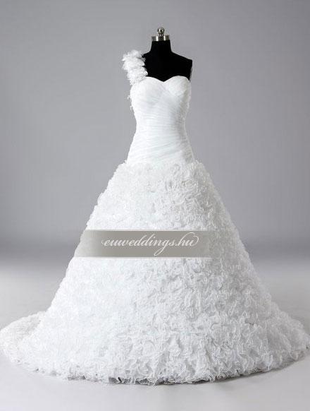 Menyasszonyi ruha báli fazonú pántos-BFP-3838
