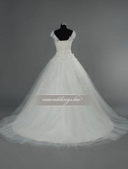 Menyasszonyi ruha báli fazonú pántos-BFP-4122