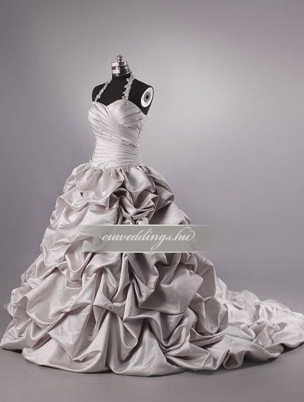 Menyasszonyi ruha báli fazonú pántos-BFP-4234