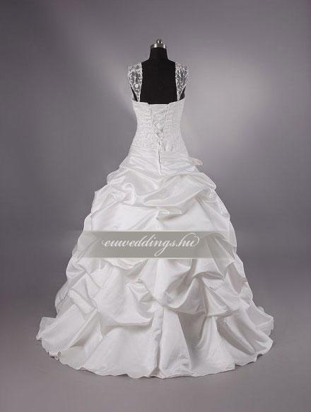 Menyasszonyi ruha báli fazonú pántos-BFP-4358