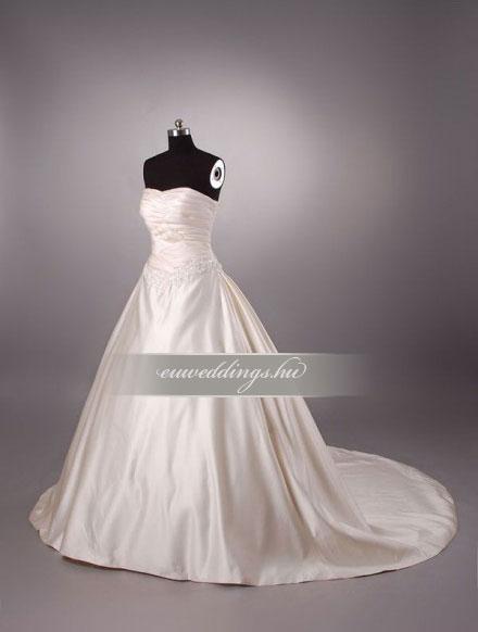 Esküvői ruha báli fazonú ujjatlan-BFU-5103