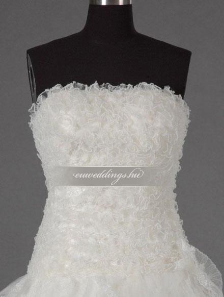 Esküvői ruha báli fazonú ujjatlan-BFU-5232