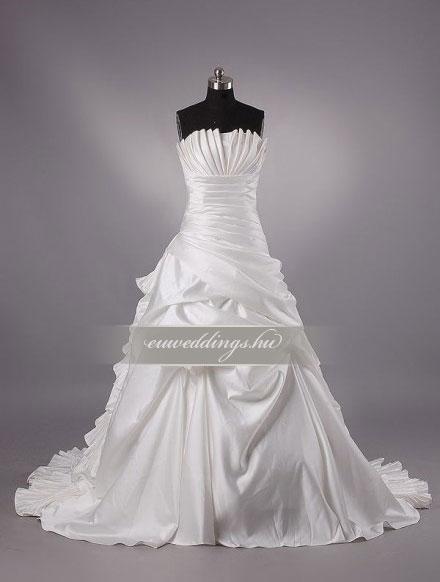 Esküvői ruha báli fazonú ujjatlan-BFU-6115