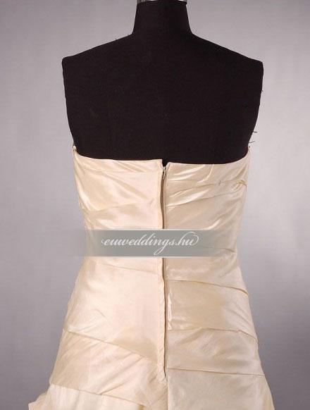 Menyasszonyi ruha egyenes fazonú mintás és színes-EFH-7925