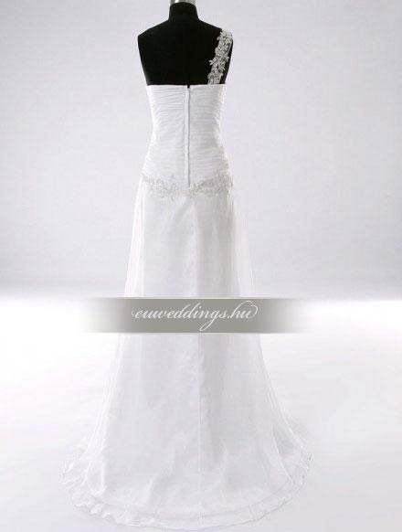Esküvői ruha egyenes fazonú pántos-EFP-8120