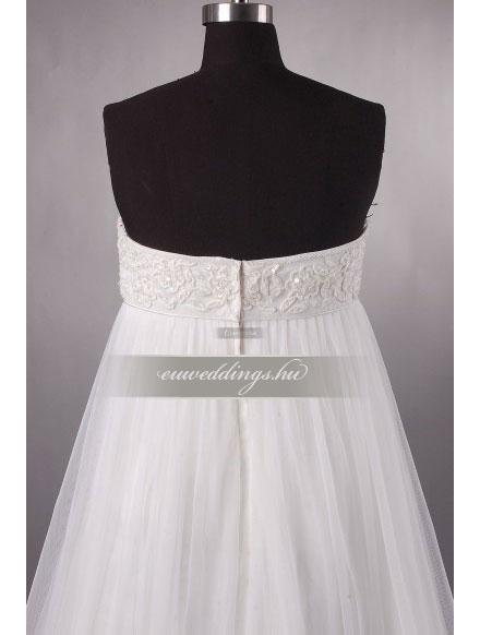Menyasszonyi ruha kismamáknak-KMR-9200
