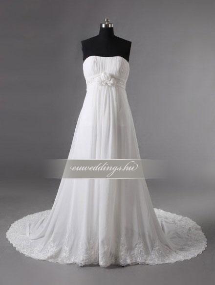Menyasszonyi ruha kismamáknak-KMR-9339