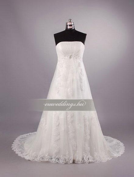 Menyasszonyi ruha kismamáknak-KMR-9343