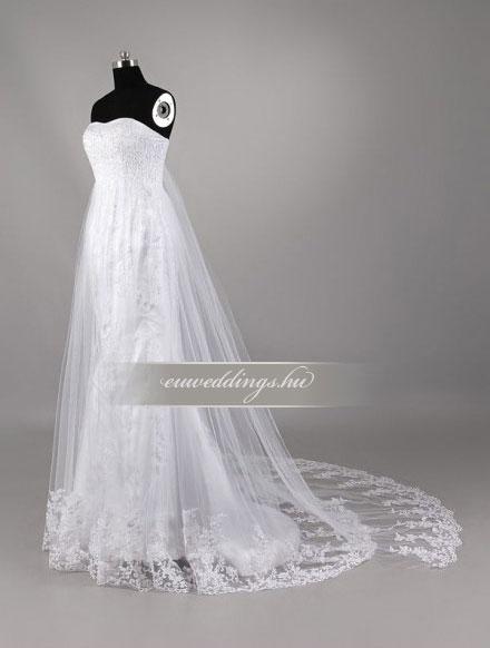Menyasszonyi ruha kismamáknak-KMR-9420
