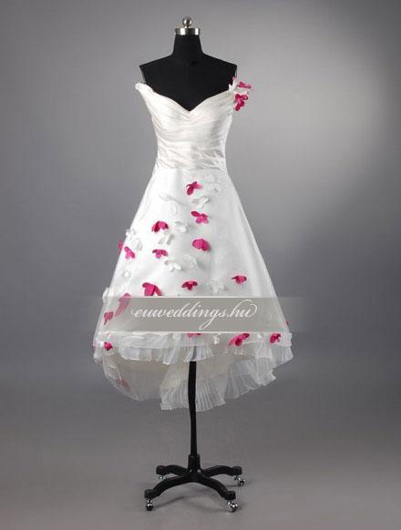 Esküvői ruha rövid-RMR-9454