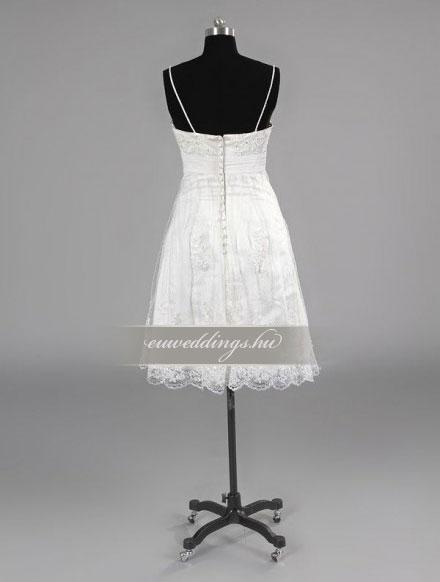Esküvői ruha rövid-RMR-9468