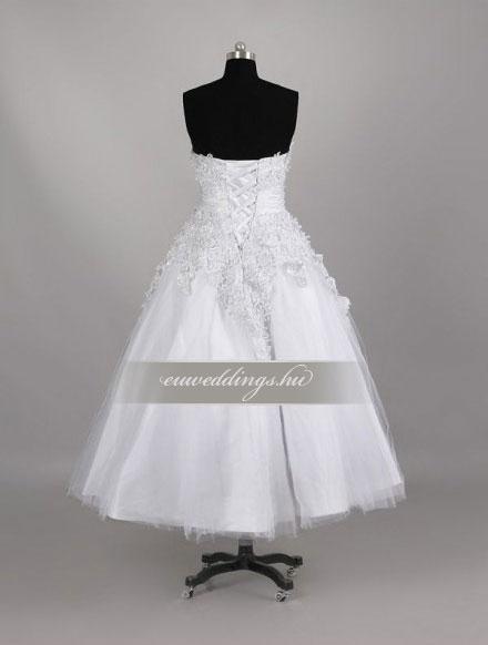 Esküvői ruha rövid-RMR-9488