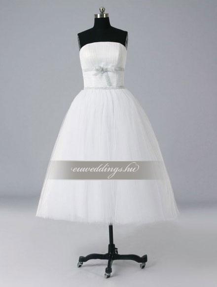 Esküvői ruha rövid-RMR-9492
