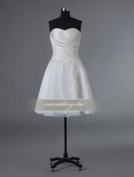 Esküvői ruha rövid-RMR-9562