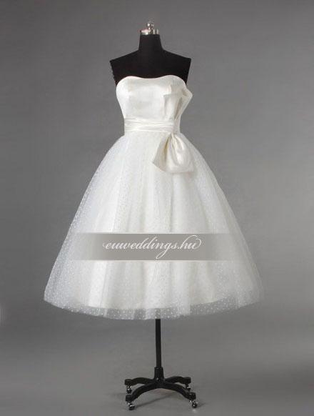 Esküvői ruha rövid-RMR-9572
