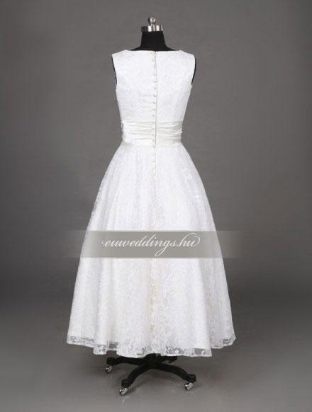 Esküvői ruha rövid-RMR-9577