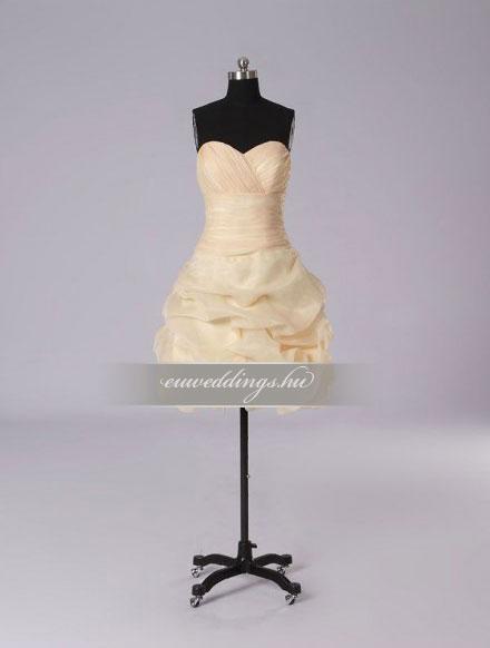Esküvői ruha rövid-RMR-9896