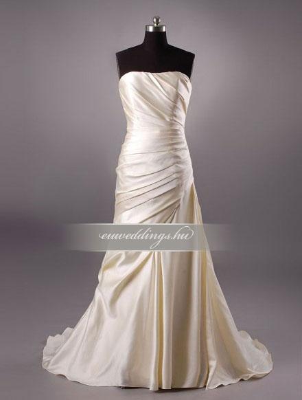 Menyasszonyi ruha sellő fazonú színes és mintás-SFS-10487