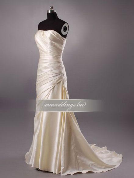 Menyasszonyi ruha sellő fazonú ujjatlan-SFU-10694