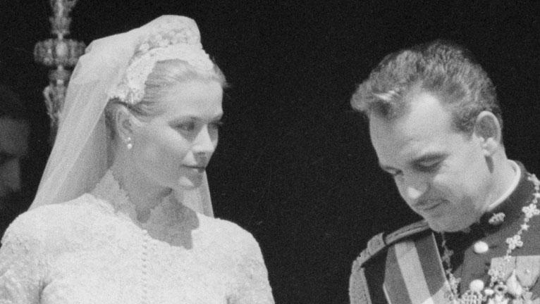 Grace Kelly esküvői ruhája