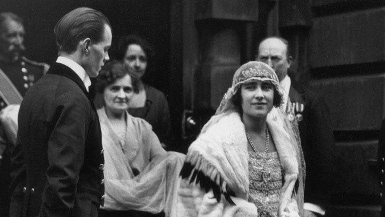 Lady Elizabeth Bowes-Lyon és VI. György