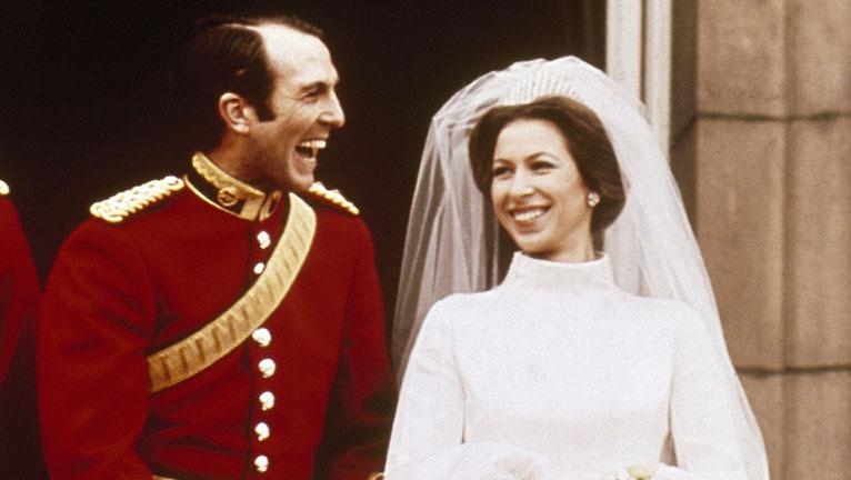 Anna hercegnő és Mark Phillips